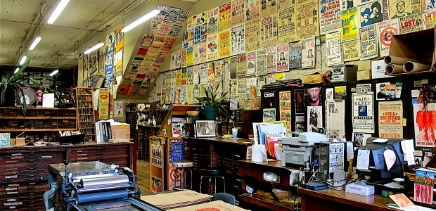 Hatch Show Print, the world's greatest letterpress printing shop