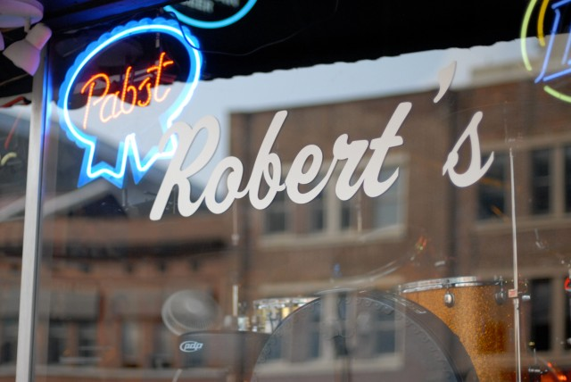 Robert's Western World front window